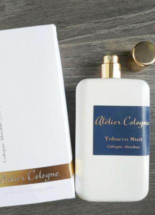 Atelier cologne tobacco nuit оригинал_cologne 5 мл затест