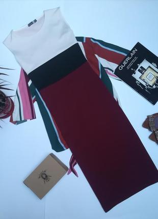 Шикарне плаття міді boohoo розмір m-l.