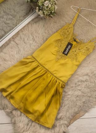 Очень красивое стильное платье от boohoo рр 10 наш 44