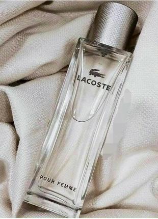Парфюмированная вода женская lacoste pour femme , 90 мл.