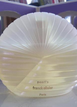 Franck olivier pearl's 75