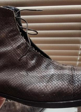 Премиальные кожаные челси ручной работы giorgio ricci италия