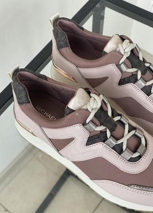 Оригинальные кроссовки от michael kors7 фото