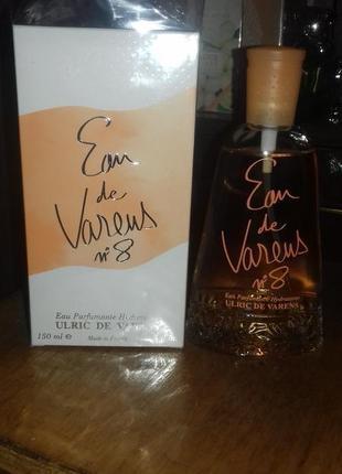 Редкость! раритет! французский парфюм urlic de varens eau de varens.