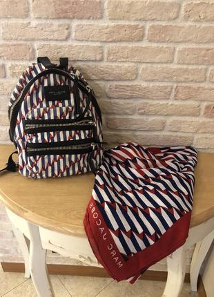 Рюкзак  и платок marc jacobs