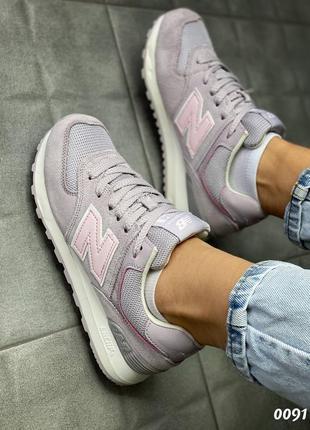 New balance 574 кроссовки женские