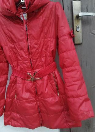 Куртка,плащ для девочки тм luxik