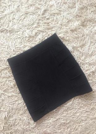Универсальная мини юбочка h&m