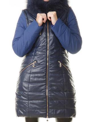 Женская зимняя куртка с мехом daser