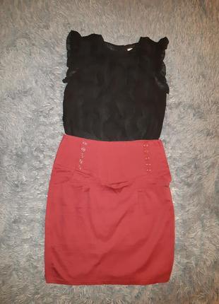 Набор юбка блузка