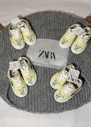 Кеды zara 21 22 23 24 размер кроссовки кеди кросівки zara h&m disney