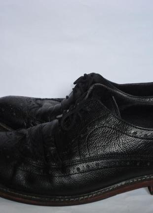 Туфли на широкую ногу натуральная кожа р.46