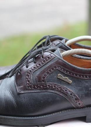 Стильные туфли оксфорды. натуральная кожа casablanca 42-43