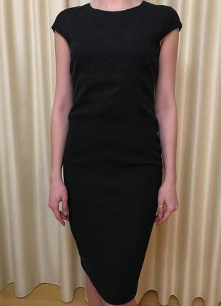 Теплое платье zara по фигуре, размер s