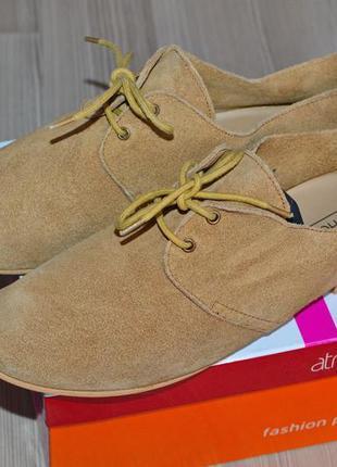 Замшевые туфли top-shop индия - 40р.