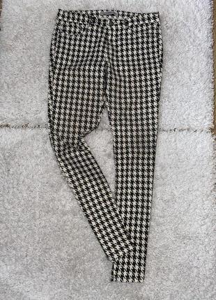 Модные стрейчевые брюки оригинал zara  made in cambodia 🇰🇭