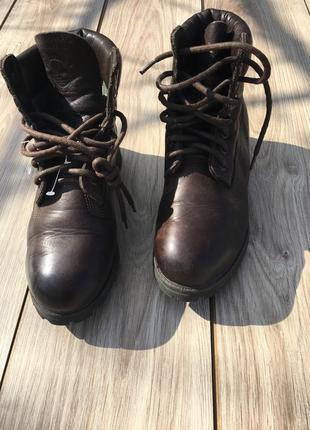 Стильные актуальные ботинки timberland стильные актуальные натуральные кожаные