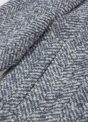 Двубортное пальто с фактурной выделкой mango7 фото