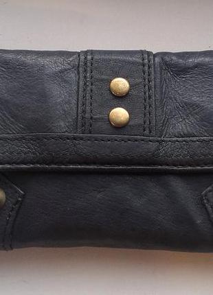 Кожаный кошелек saddler topshop