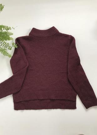 Кофта/свитер/гольф укороченный спереди