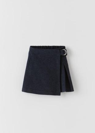 Юбка-шорты зара