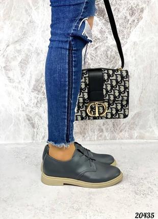 Туфли кожаные , шнурки2 фото
