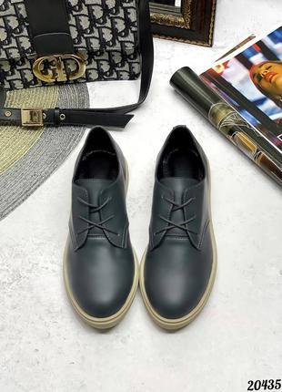 Туфли кожаные , шнурки7 фото