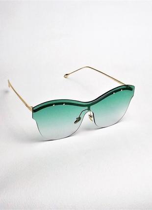 Солнцезащитные очки женские зеленые dr