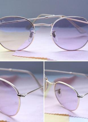Очки с лиловой линзой