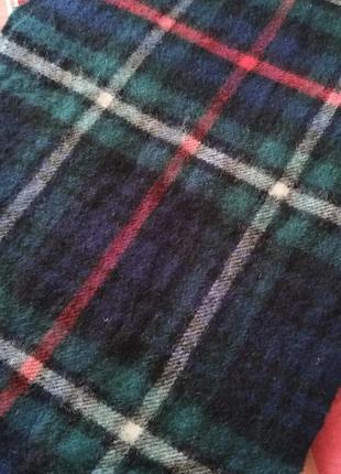 Highland house touch cashmere  мужской шарф. шотландия.