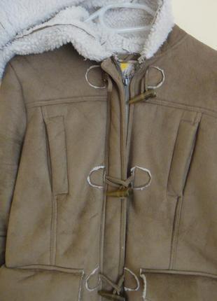 Дубленка, куртка, пальто pull&bear