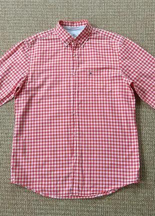 Lacoste рубашка classic fit оригинал (l)