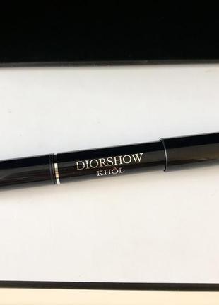 Карандаш для глаз dior diorshow khol 079 - smoky grey (дымчато-серый)