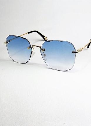 Очки солнцезащитные женские chl 20156 голубые