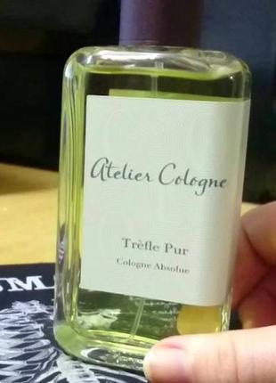 Atelier cologne trefe pur оригинал_cologne 5 мл затест