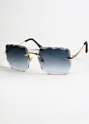 Очки солнцезащитные женские chl 5504 серо-синие