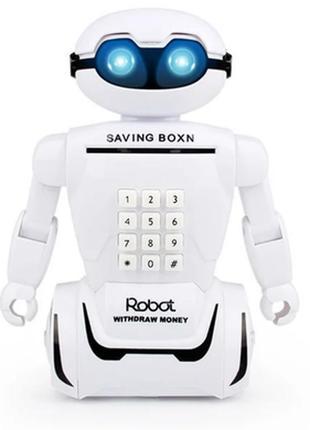 Детская электронная копилка robot piggy bank