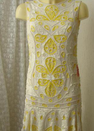 Платье вечернее шикарное frock&frill р.42 7598