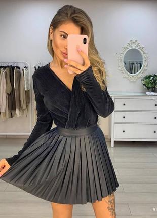 Плиссированные юбка