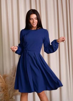 Платье(темно- синее).