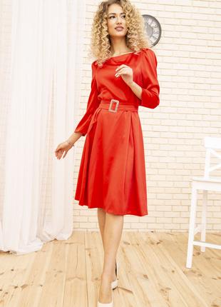 Платье 167r0122-1 цвет красный