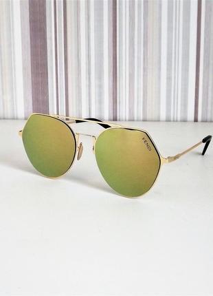 Солнцезащитные очки женские 0194 зеркальные