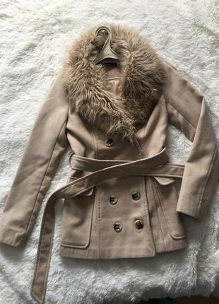 Пальто полупальто
