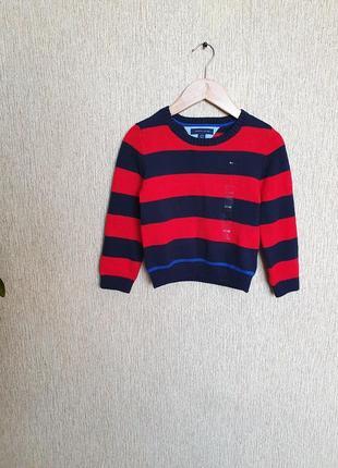 Яркий, качественный свитер, джемпер tommy hilfiger, оригинал