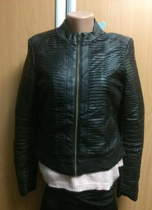 Куртка из кожезаменителя размер s/p