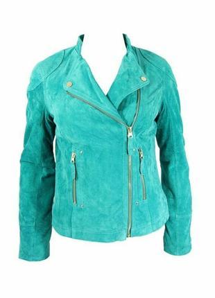 Классная курточка натуральный замш