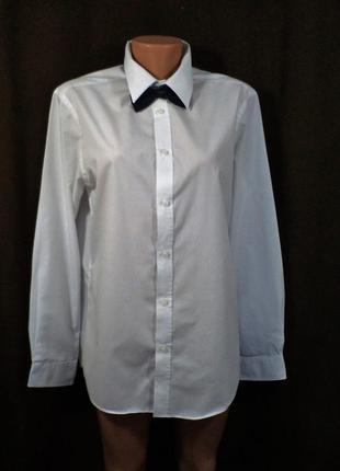Рубашка школьная белая на 15-16 лет