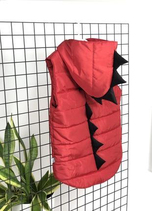 Безрукавка діно динозаврик з ріжками