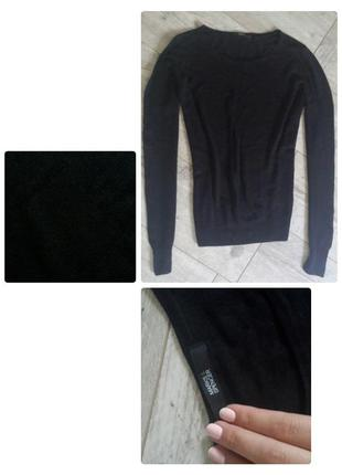 Черный свитерок от marks&spencer