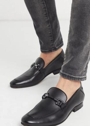 Акція ❗дивись всі фото❗чорні туфлі  лофери з сайту asos.